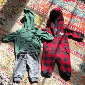 Carters 3 piece baby boy outfit. (3 months old)